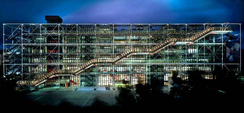 Beaubourg_nuit